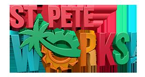 St Pete Works logo